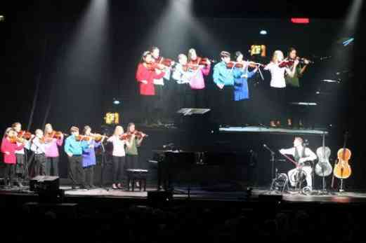Students with Piano Guys