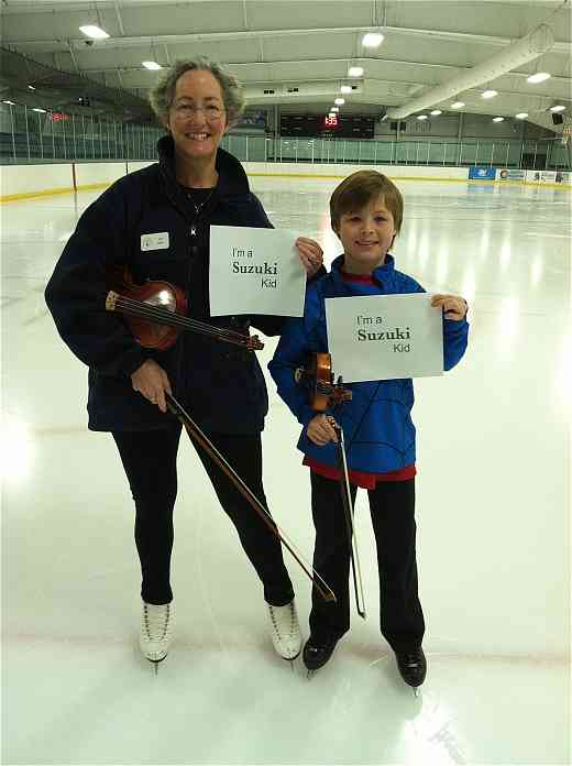 Me and Ilya on the ice