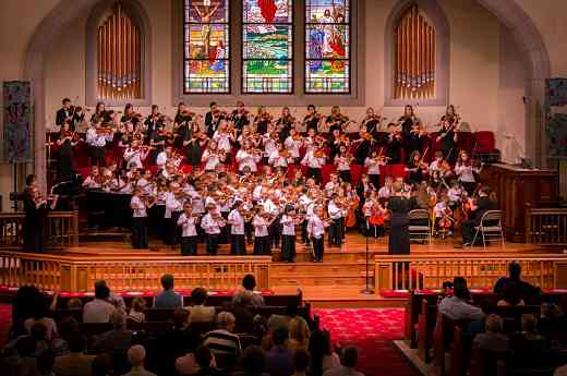 Suzuki Strings of Augusta, annual Spring Concert