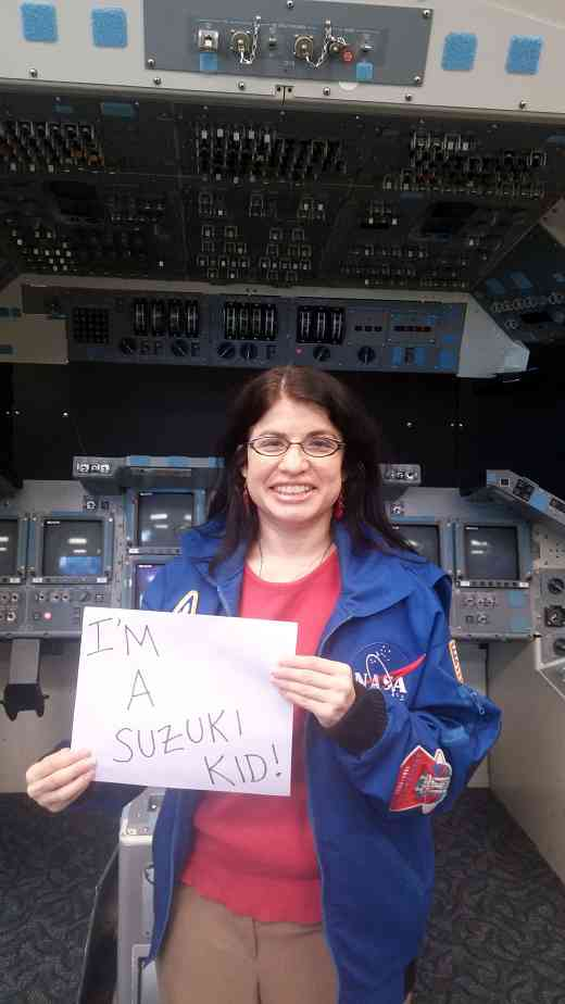 Dr. Laurie Carrillo, NASA Engineer, Suzuki Kid