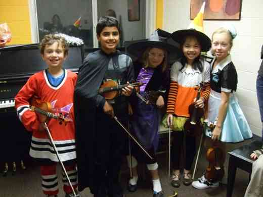 Halloween Group Recital