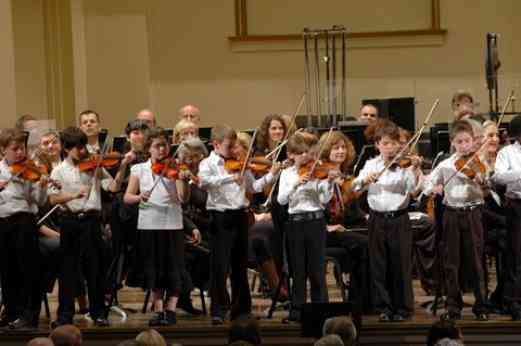 Shenandoah Valley students perform