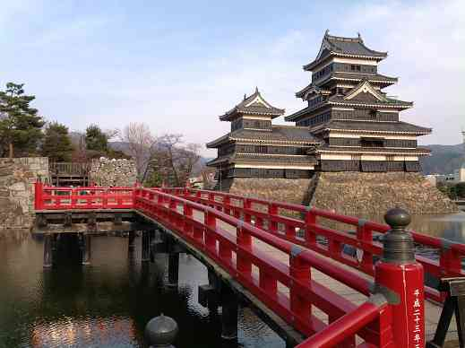The famous Matsumoto Castle