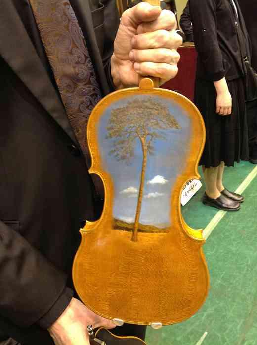 Driftwood Violin