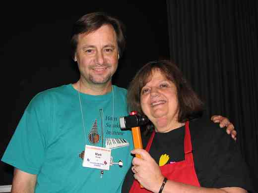 Mark George and Teri E