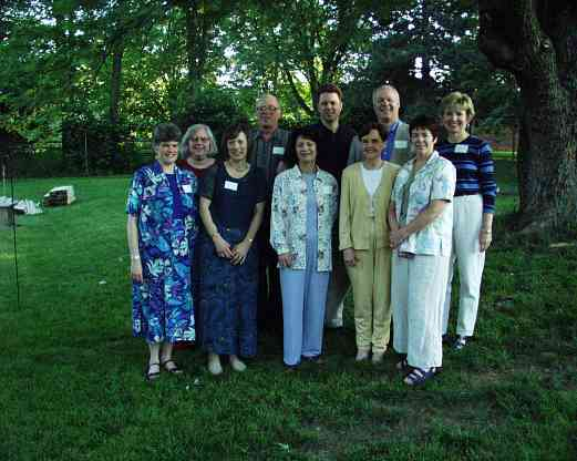 SAA Board of Directors in 2001