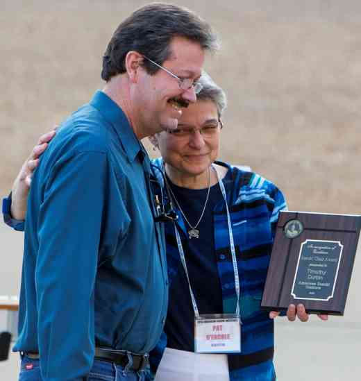 Timothy Durbin receives 2013 ASI Suzuki Chair award from Pat D'Ercole
