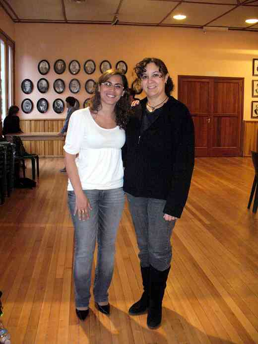 Mariana Capponi and Kelly Williamson