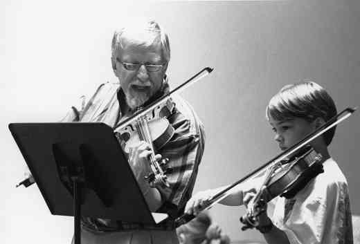 David Einfeldt violin lesson