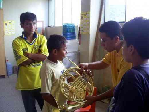 first horn lesson