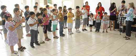 Recorder play-in, Peru