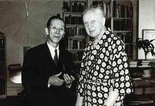 Dr. Shinichi Suzuki meets Leopold Stokowski