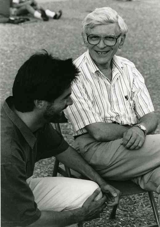 Allen Lieb chats with Milton Goldberg
