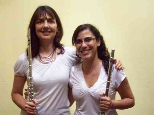 Laurel Ann Maurer and Mariana Capponi in La Plata, Argentina.