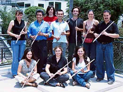 Flute Book 1 and 2 class with Kelly Williamson