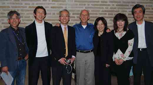 Japanese cello teachers with Rodney Farrar.
