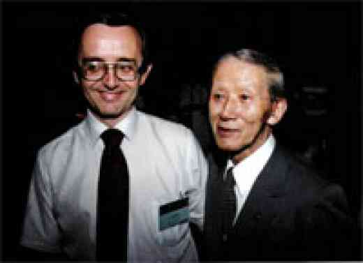 Stan Smith with Dr. Shinichi Suzuki