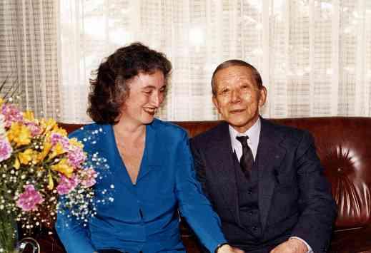 Susan Grilli an Dr. Shinichi Suzuki