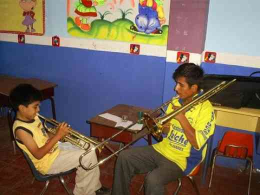 Victor and Leni, trumpet and trombone
