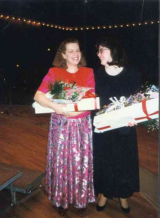 Dr. Kukkamäki and Mary Hofer, 1997
