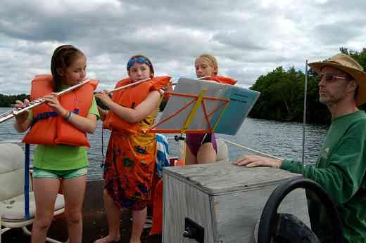 Lake Sylvia Suzuki Flute Institute