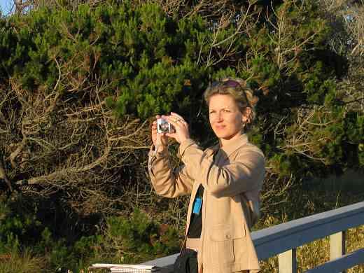Karen Phelan at the 2005 SAA Leadership Retreat