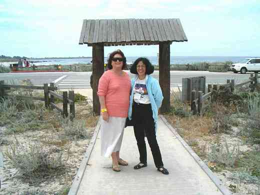 Carmen Wise and Cherie Larson at the 2005 SAA Leadership Retreat