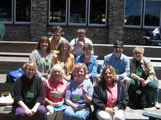 Long-term Teacher Trainers meeting at the 2005 SAA Leadership Retreat