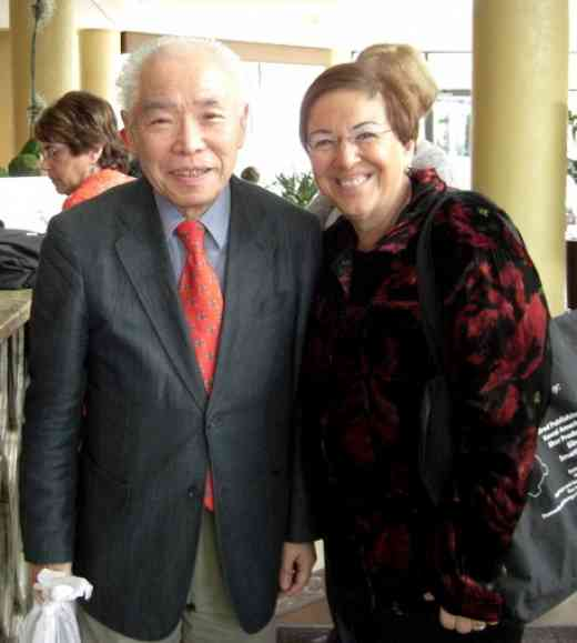 Koji Toyoda and Judy Offman
