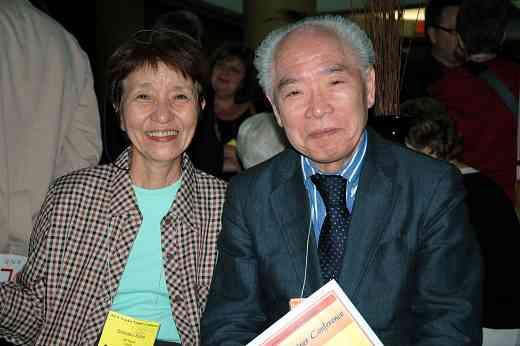 Shinobu Saito and Koji Toyoda