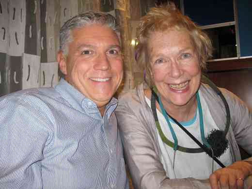 Ed Kreitman and Helen Brunner