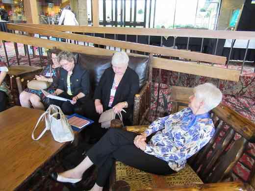 Canadian suzuki teachers meet at the Leadership Retreat.