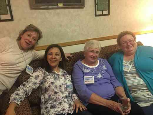 SECE Meeting, Lynn McCall, Dorothy Jones, Danette Schuh, Lorena Leal