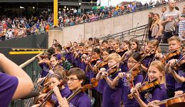 Boulder Suzuki Strings at Colorado Rockies