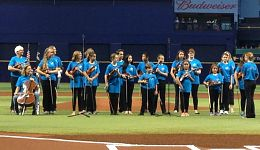 Florida Music Institute at Tampa Bay Rays Game