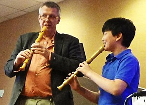 Recorder at the SAA Conference