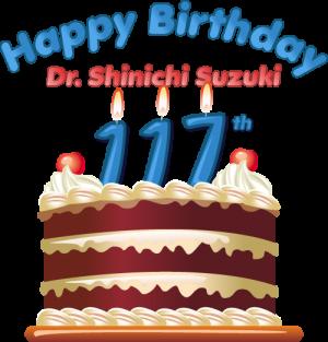 Dr. Suzuki Birthday Cake