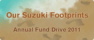Our Suzuki Footprints: Annual Fund Drive 2011