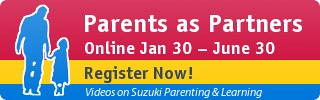 Parents as Partners Online, January—June 30, Register Now!