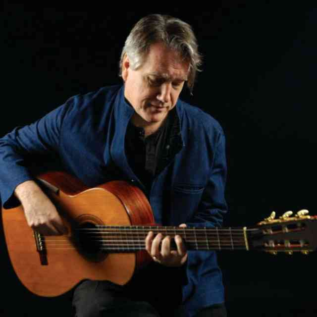 Benjamin Verdery Master Guitarist Teacher and Composer