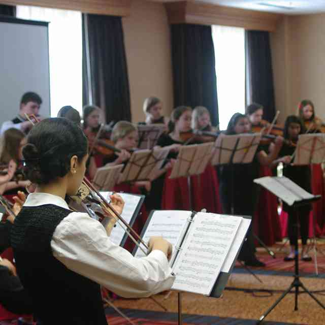 Master Classes with Kirsten Docter Kick Off Viola Sessions