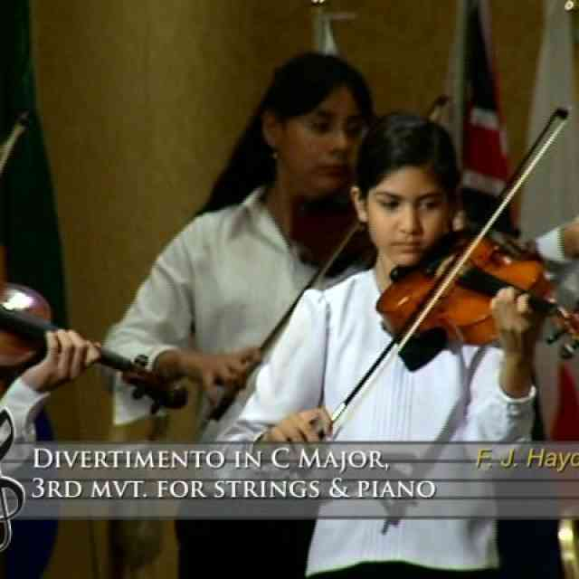 Divertimento in C Major 3rd mvt