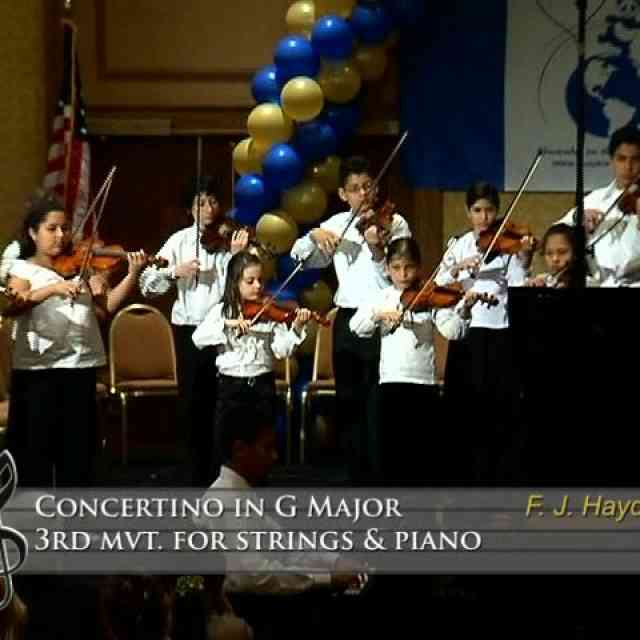 Concertino in G Major 3rd mvt