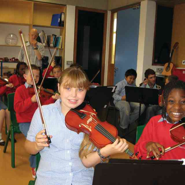 Side by Side in Harmony Innercity school strings in Ireland