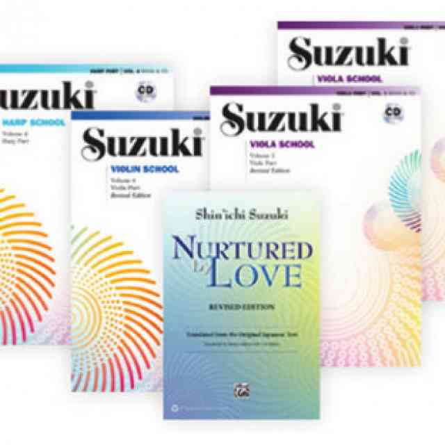 Increasing Options for Suzuki Materials
