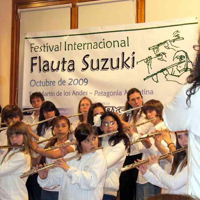 Festival Internacional de Flauta Traversa Suzuki, Patagonia Argentina, Octubre 2009