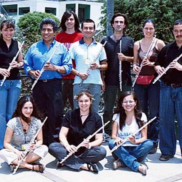 Flute at XXIII Festival Internacional de Musica Suzuki in Lima Peru