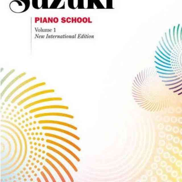 Revised Suzuki Piano Books 13