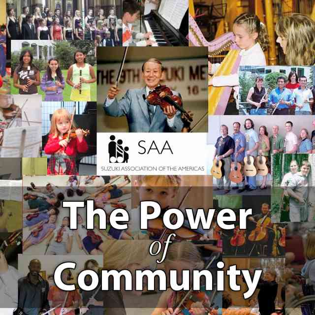 Suzuki ENews 39 The Power of Community  Special Birthday Edition