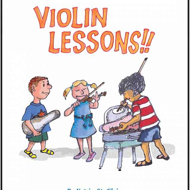 Book Review: Violin Lessons!! by Katrin St. Clair